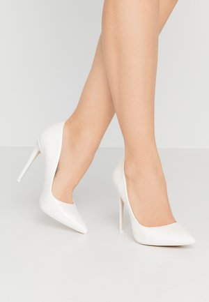 RACHELL - Zapatos altos - white