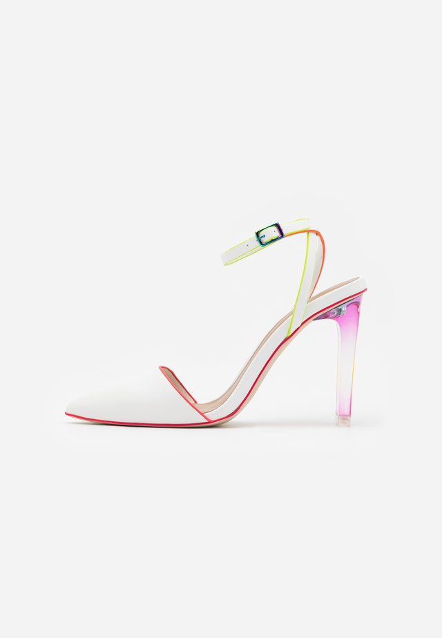 GLAMOURISS - High Heel Pumps - white