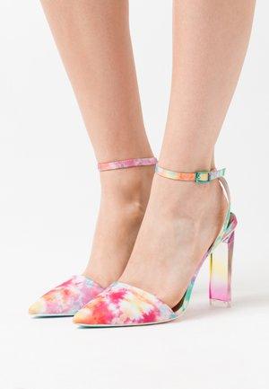 GLAMOURISS - Hoge hakken - pastel/multicolor
