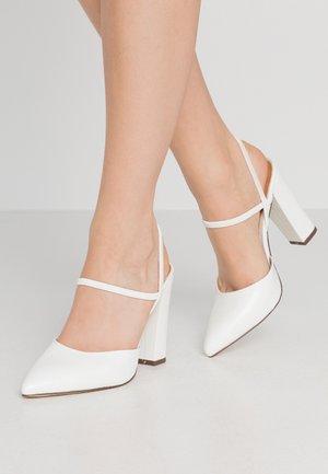 GLALLA - Lodičky na vysokém podpatku - white