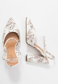 Call it Spring - GLALLA - Escarpins à talons hauts - white/multicolor - 3