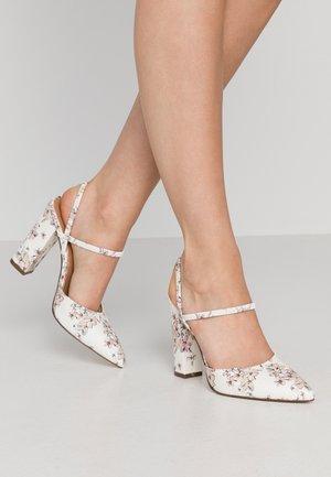 GLALLA - Zapatos altos - white/multicolor