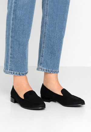 MARTINHA - Nazouvací boty - black
