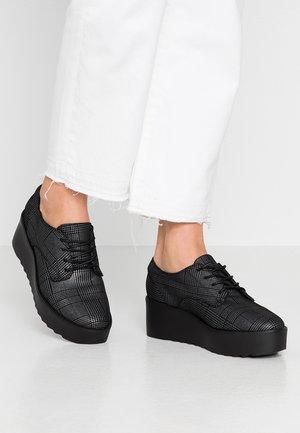 STIPA - Šněrovací boty - black/multicolor