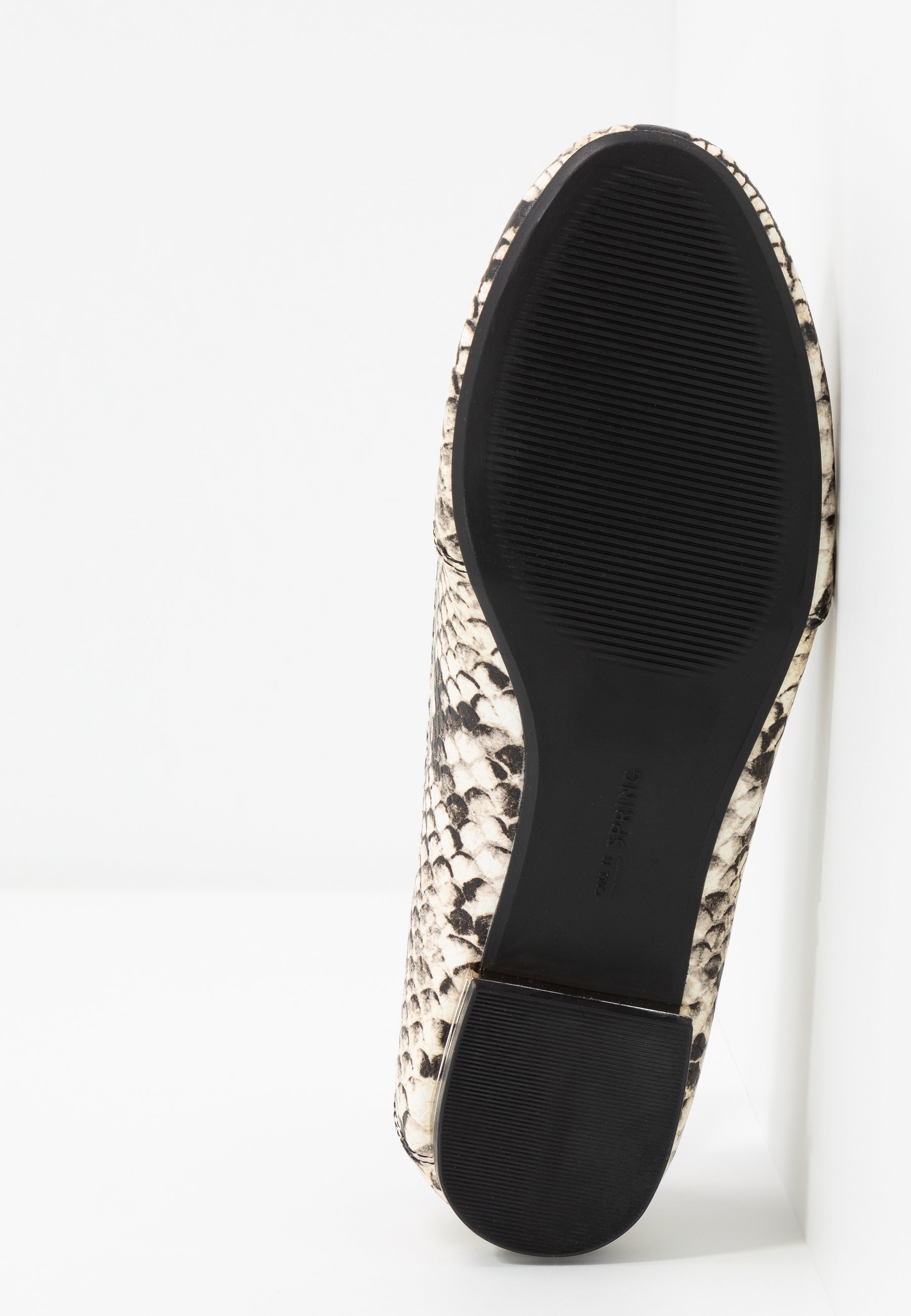 Call it Spring JOSSELIN - Slipper - black/white