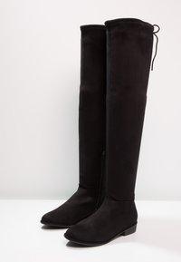 Call it Spring - LEGIVIA VEGAN - Over-the-knee boots - black - 3