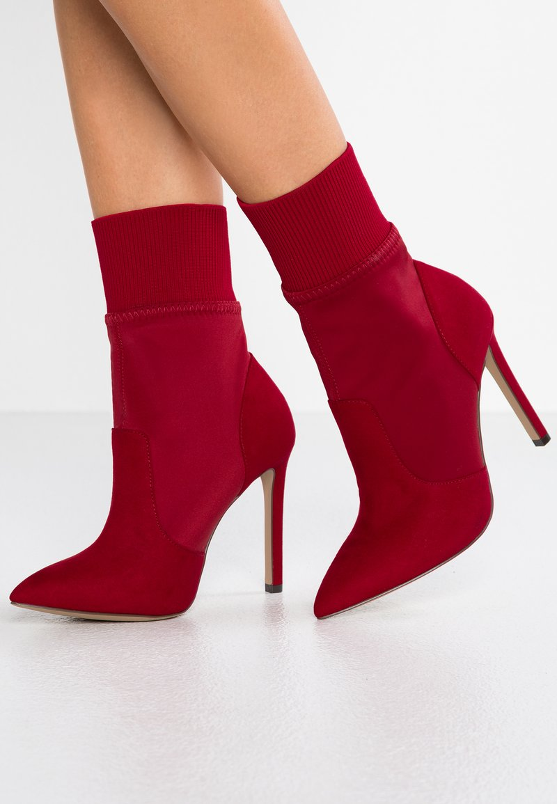 Call it Spring - WOADIA - High heeled ankle boots - red