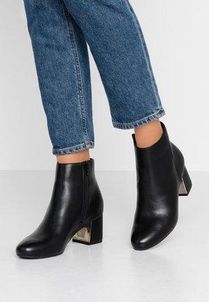 CETE - Kotníková obuv - black