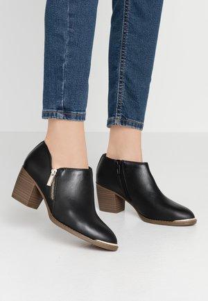 CASEYY - Boots à talons - black