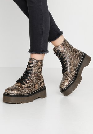 ROCKIT - Bottines à plateau - rust