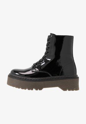 ROCKIT - Platåstøvletter - black