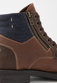 Call it Spring - BRERARI - Bottines à lacets - cognac - 5