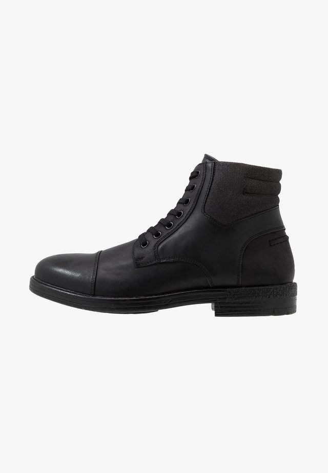 BRERARI - Lace-up ankle boots - other black