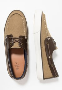 Call it Spring - GREENLING - Chaussures bateau - beige - 1