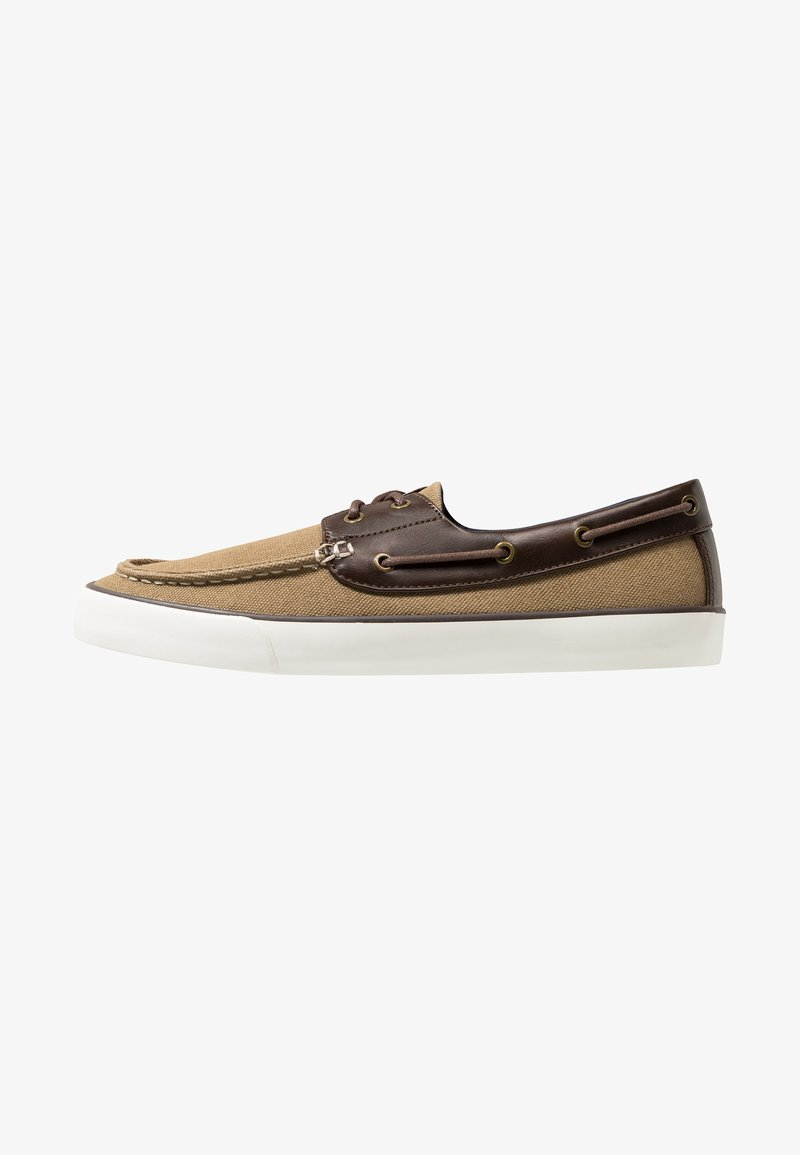 Call it Spring - GREENLING - Chaussures bateau - beige