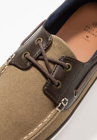 Call it Spring - GREENLING - Chaussures bateau - beige - 5