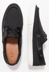 Call it Spring - GREENLING - Boat shoes - black - 1