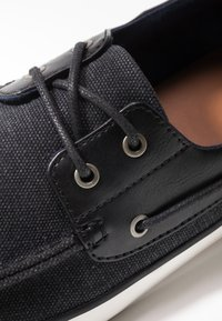 Call it Spring - GREENLING - Chaussures bateau - black - 5
