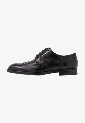 HEMADO - Smart lace-ups - noir