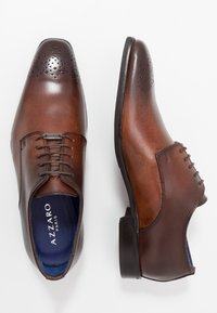 Azzaro - SEDAN - Derbies & Richelieus - cognac - 1
