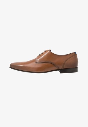 DOPING - Smart lace-ups - cognac