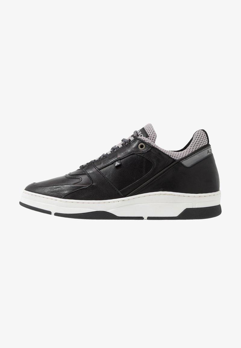 Azzaro - JOGGING - Baskets basses - noir/gris