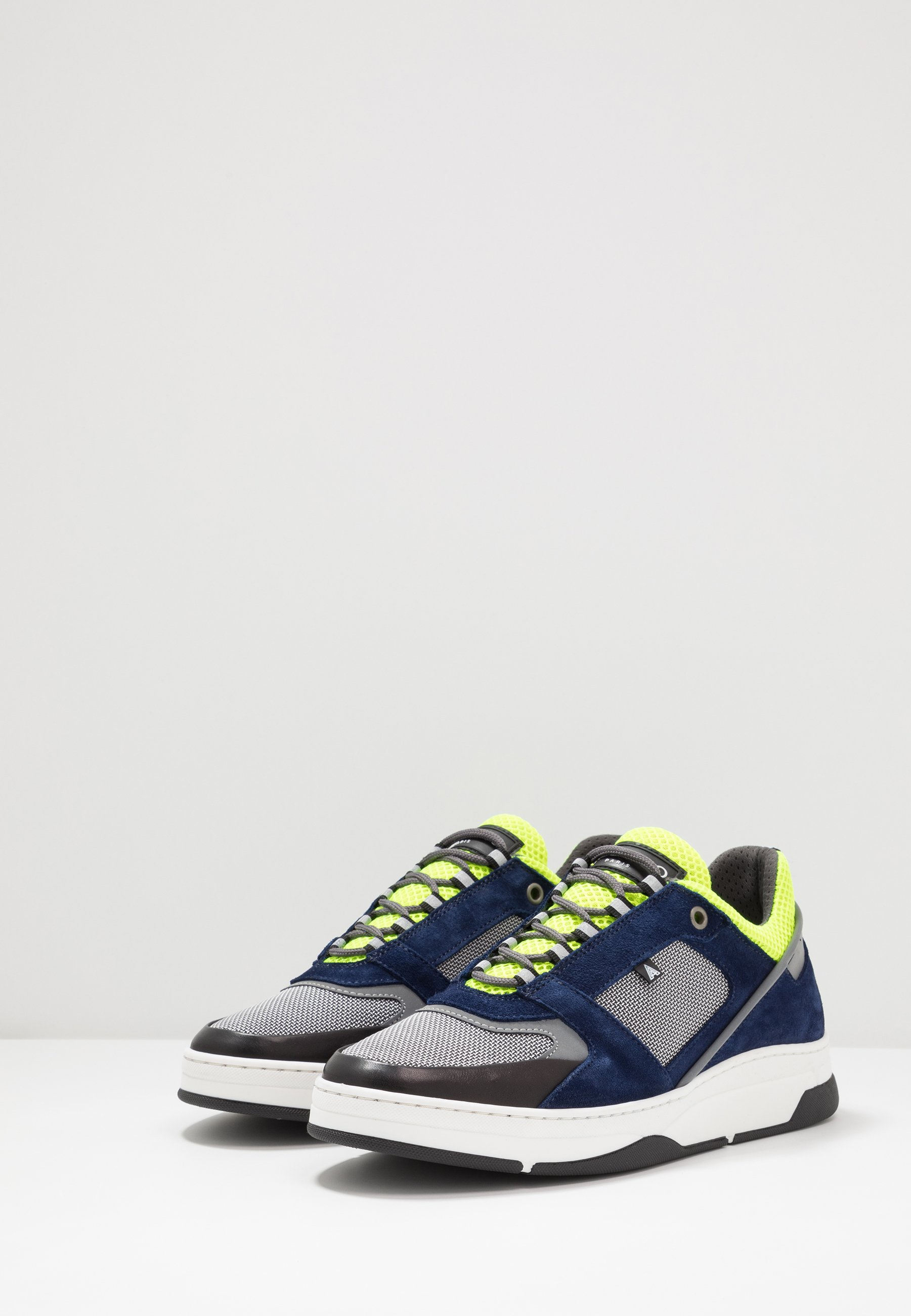 Azzaro Jogg - Sneakers Laag Marine/gris/jaune Goedkope Schoenen