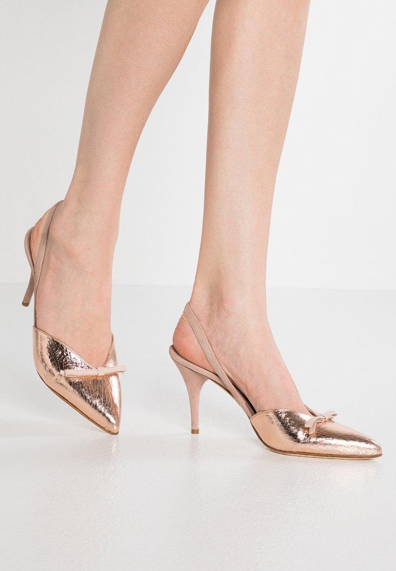 Alberto Zago - High Heel Pumps - rosato