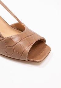 Alberto Zago - Sandals - kenia biscotto taupe - 2