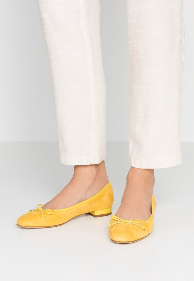 Ballet pumps - giallo