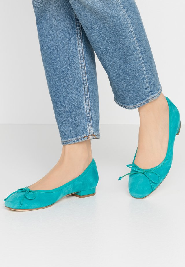 Ballet pumps - turchese