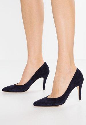 High heels - cam blue