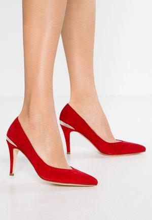 Klassieke pumps - rosso