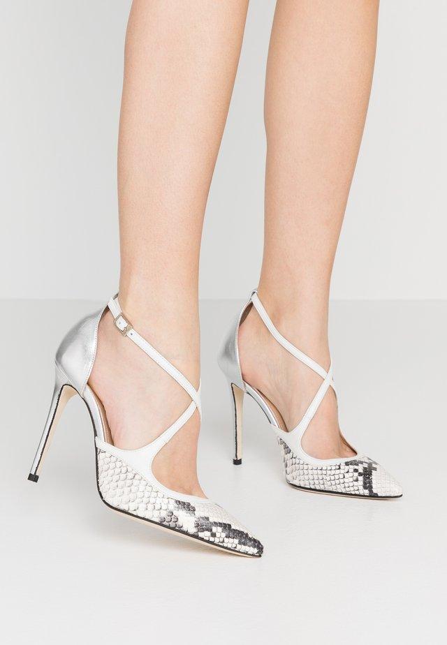 High heels - bianco
