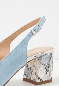 Alberto Zago - Classic heels - azzurro/jeans - 2