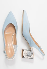 Alberto Zago - Classic heels - azzurro/jeans - 3