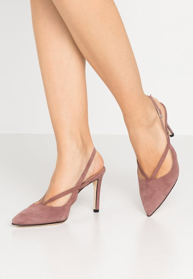 High Heel Pumps - rose antico
