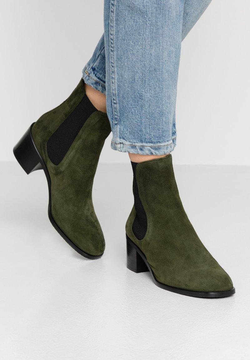 Alberto Zago - Classic ankle boots - verdone