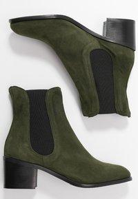 Alberto Zago - Classic ankle boots - verdone - 3