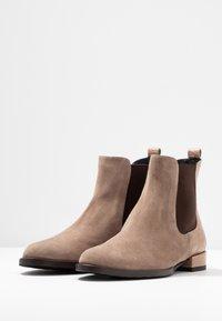 Alberto Zago - Classic ankle boots - taupe - 4