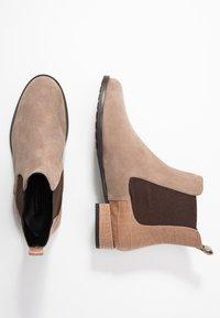 Alberto Zago - Classic ankle boots - taupe - 3