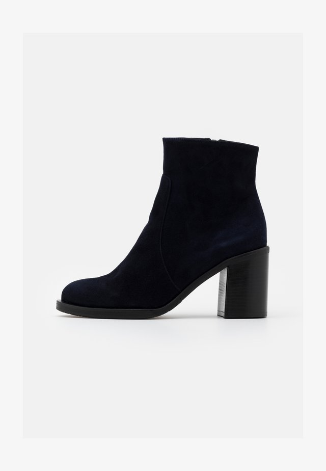 Classic ankle boots - blu navy scuro