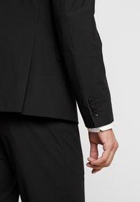 Bertoni - LAPEL TUX - Suit - black - 8
