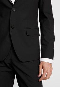 Bertoni - LAPEL TUX - Suit - black - 7