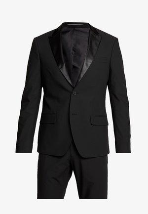LAPEL TUX - Suit - black