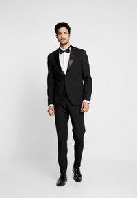 Bertoni - LAPEL TUX - Suit - black - 1