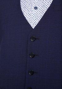 Bertoni - VINTER WAIST COAT - Vesta do obleku - blue - 5