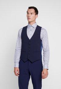 Bertoni - VINTER WAIST COAT - Vesta do obleku - blue - 0