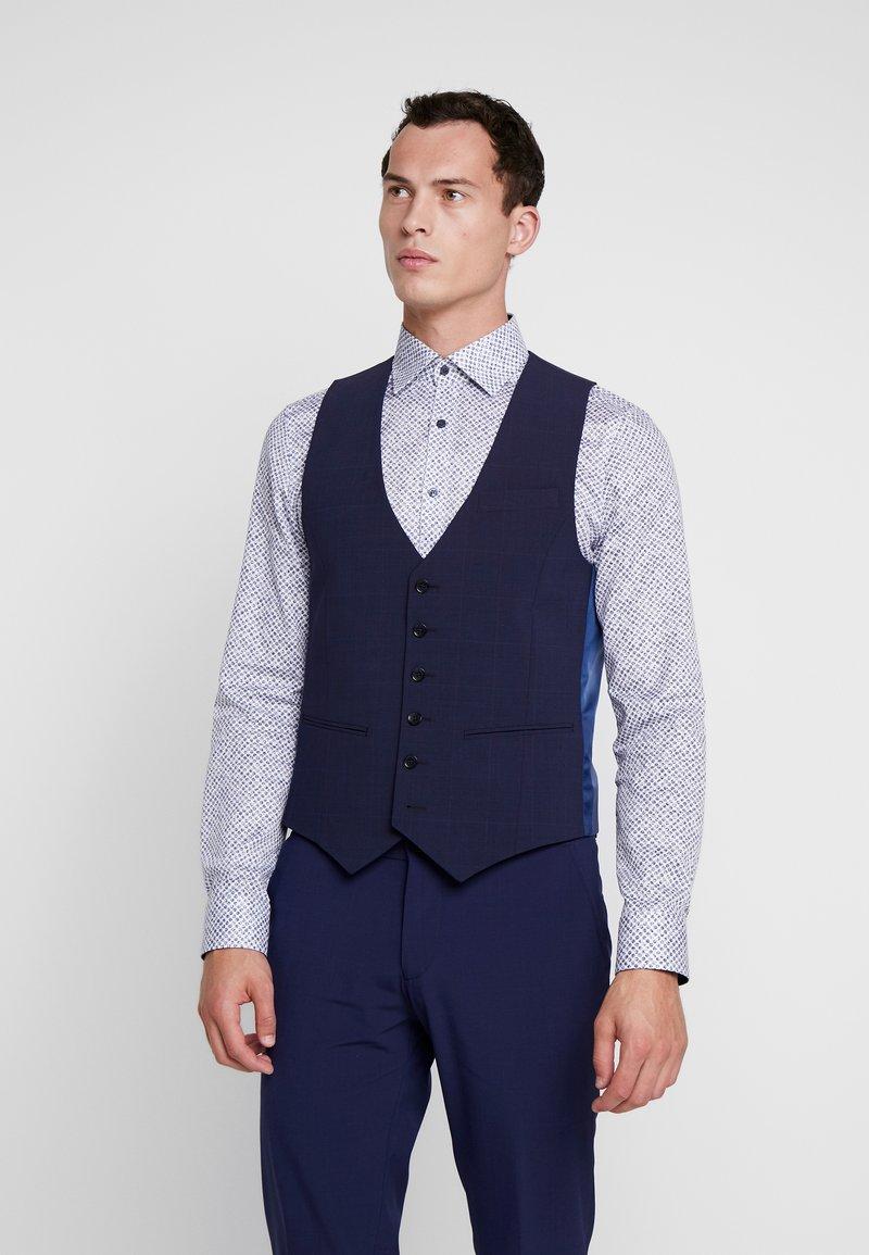 Bertoni - VINTER WAIST COAT - Vesta do obleku - blue