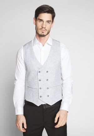BARON WAISTCOAT - Gilet de costume - aqua grey